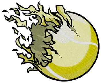 Shredded Tennis Ball