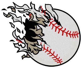 Shredded Baseball
