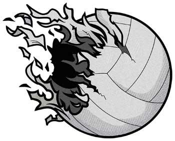 Shredded Volleyball