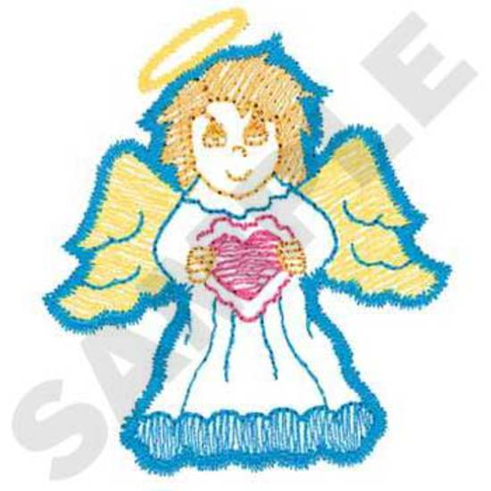 Angel W/heart