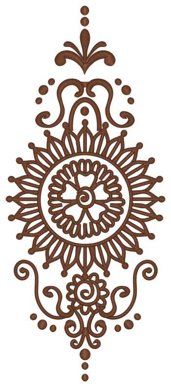 Mehindi Pattern