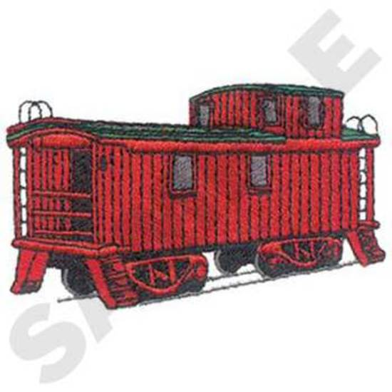 Holz Caboose