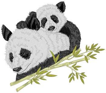 Panda & Cub