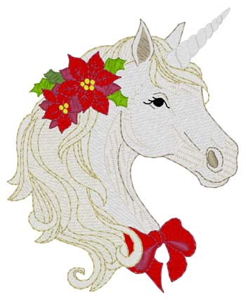Sm. Christmas Unicorn